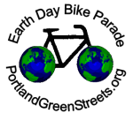Earth Day Bike Parade logo