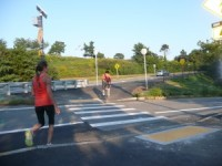 """The Fund and TIFs can help pay for pedestrian and bicycle crossing improvements like this one on Tukey Street at the I-295 exit onto Washington Avenue."""""""