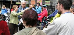 St. Luke's, May 2009 064 - Blessing of bicycles