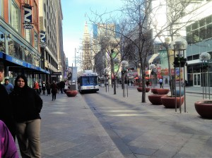 Denver 16th St Mall - photo credit Sarah Cushman